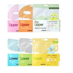 JJ YOUNG - The Upper/ Lower Sheet Mask Set - 6 Types