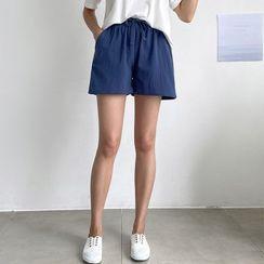 PIPPIN - Drawstring-Wasit Shorts