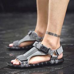 MARTUCCI - Lettering Sandals
