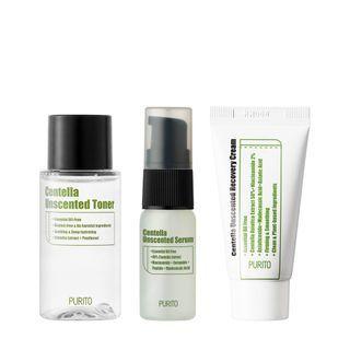 Centella Unscented Line Travel Kit Mini