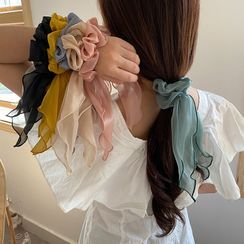Kokyu - Plain Fabric Hair Tie