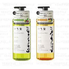 Kracie - Ichikami Natural Care Select Shampoo 480ml - 2 Types