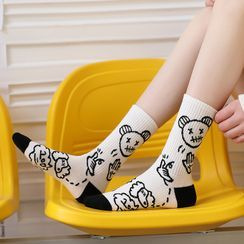MOGLA(モグラ) - Cartoon Socks