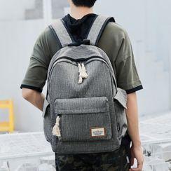 Bag Hub(バッグハブ) - Applique Zip Backpack