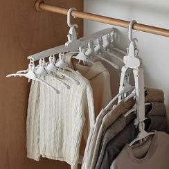 Lazy Corner - Foldable Multi-Hanger Organizer