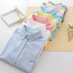 Lina Cota - Plain Oxford Shirt