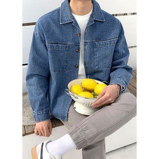 JOGUNSHOP - Dual-Pocket Denim Jacket