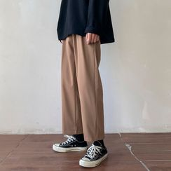 YERGO(ヤーゴ) - Wide-Leg Dress Pants
