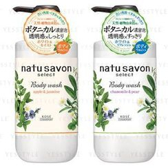 Kose - Softymo Natu Savon Select Body Wash 500ml - 2 Types