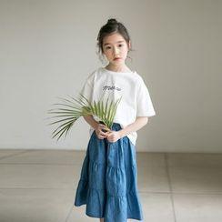 Cuckoo - Kids Lettering Short-Sleeve T-Shirt