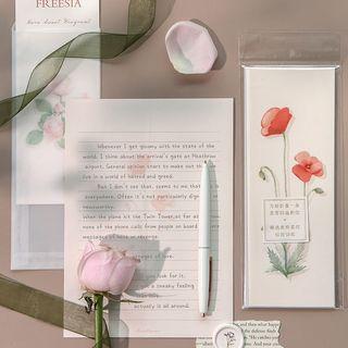 Locasa - Floral Print Letter Set