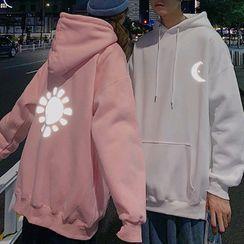 CRIBI - Couple Matching Printed Hoodie