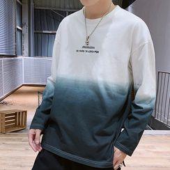 KOKAY - Gradient Long-Sleeve T-Shirt