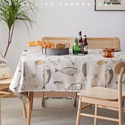 iMpressee - Fish Print Tablecloth