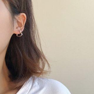 Calypso - Hollow Heart Earring