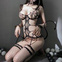 Hotty - Lingerie Cat Costume Set
