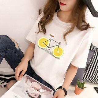 Carmenta - Short-Sleeve Printed T-Shirt