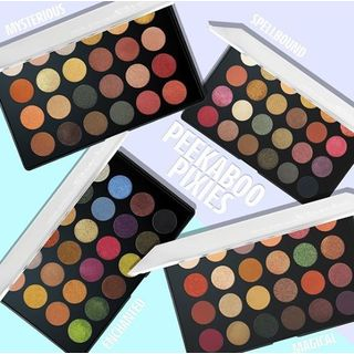 RUDE - Peekaboo Pixies 24 Eyeshadow Palette (4 Colors), 30g