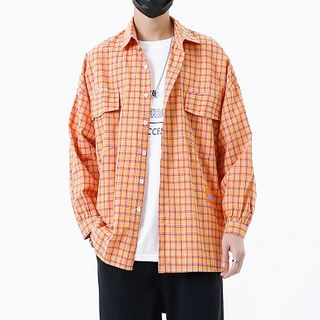Avilion(アヴィリオン) - Plaid Shirt / T-Shirt / Pants / Sneakers
