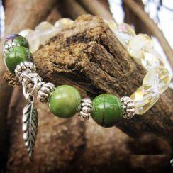 Townlet - 陶瓷饰珠仿水晶手链