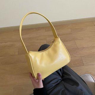 JAMEL - Faux Leather Shoulder Bag