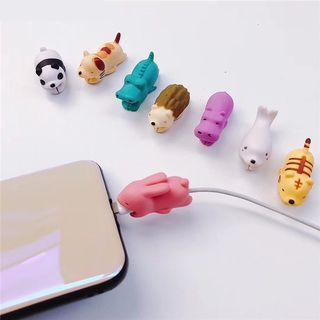 Phone in the Shell - Animal Cable Protector (Various Designs)