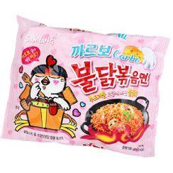 Samyang - Fideos ramen de pollo picante con sabor a carbonara