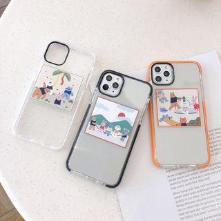 Wild Pony - Bear Print Phone Case for iPhone 7 / 7 Plus / 8 / 8 Plus / X / XS / XR / XS Max / 11 /11 Pro / 11 Pro Max