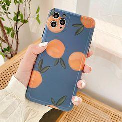 Aion - 橙子印花手机保护套 - iPhone 11 Pro Max / 11 Pro / 11 / XS Max / XS / XR / X / 8 / 8 Plus / 7 / 7 Plus / 6s / 6s Plus