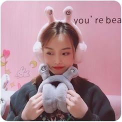 Chimi Chimi - 仿毛猫耳朵耳罩