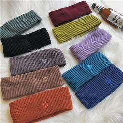 TAAK - Plain Knit Face Wash Headband
