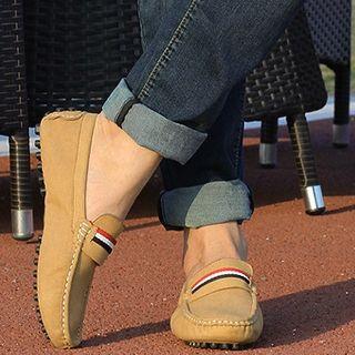 NOVO - Striped Applique Loafers