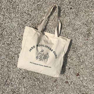 TangTangBags - 印花帆布購物袋