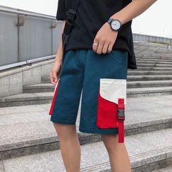 Cowpow - Color Block Shorts