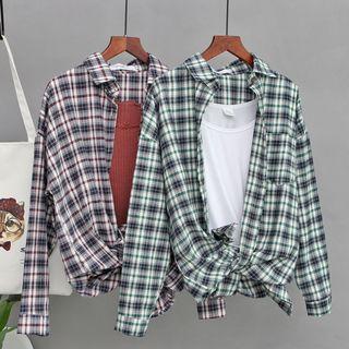 JOEJOE - Plaid Shirt