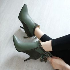 Megan - Pointy Ankle Boots