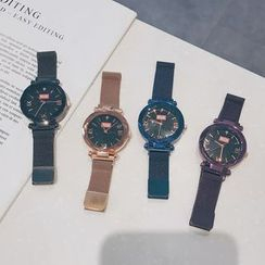 Teep - Roman Numeral Milanese Strap Watch