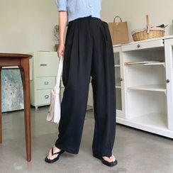 Cherryville - Pintuck-Front Dress Pants