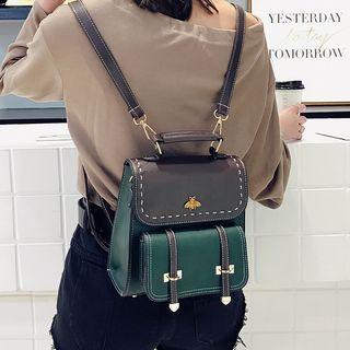 Merlain - Two-Tone Backpack