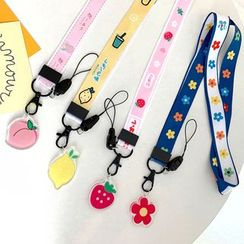 OUROBA - Fruit / Flower Mobile Neck Strap