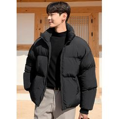 JOGUNSHOP - Zip-Up Padded Jacket in 8 Colors