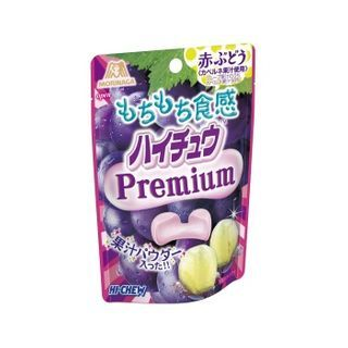 Morinaga - Hi-Chew Premium Chewy Candy Red Grape Flavor 35g