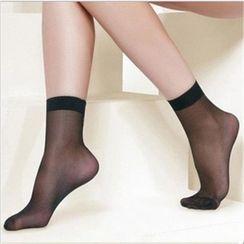 Huasha - 网纱袜子