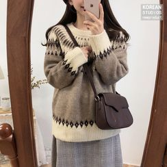 Sienne - Nordic Print Sweater