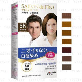 DARIYA - Salon De Pro Hair Color Cream 3 pcs - 7 Types