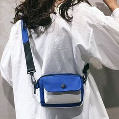 Churori  - Color Block Square Crossbody Bag