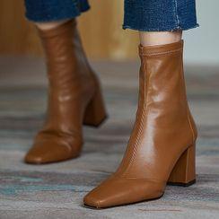 Weiya - Block-Heel Ankle Boots