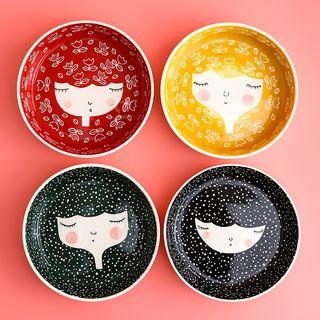 Hashi - Cartoon Print Ceramic Bowl