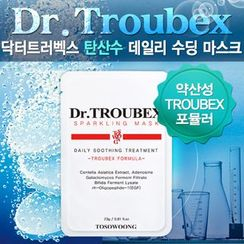 TOSOWOONG - Dr. Troubex Soothing Mask Pack 10pcs