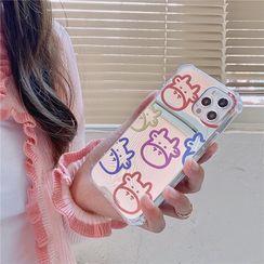 Surono - Milk Cow Mirrored  Phone Case - iPhone 12 Pro Max / 12 Pro / 12 / 12 mini / 11 Pro Max / 11 Pro / 11 / SE / XS Max / XS / XR / X / SE 2 / 8 / 8 Plus / 7 / 7 Plus